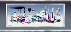 The Layl Factory by Romain Trystram, via Behance
