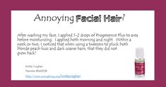 Young Living Essential Oils with Krista: Progessence Plus for facial hair