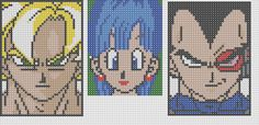 Dragon Ball Perler Bead Patterns by Sebastien Herpin