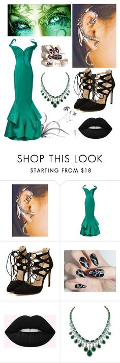 """""""Goddess of Earth"""" by kellie-500 ❤ liked on Polyvore featuring Zac Posen and WALL"""