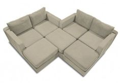 lovesac sactional configurations - Google Search