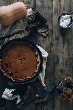 Tapas na Língua: Tarte de Abóbora, canela e Gengibre :: Pumpkin Ginger Cinnamon Pie
