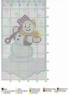 Pattern available. Plastic Canvas Ornaments, Plastic Canvas Christmas, Plastic Canvas Crafts, Plastic Canvas Patterns, Snowman Crafts, Christmas Crafts, Christmas Tree, Christmas Goodies, Beaded Banners