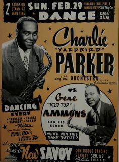 Charlie Parker at the Savoy