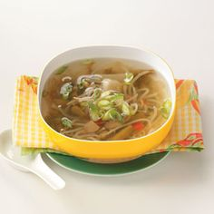 Mock Chinese Soup. 3 ingredients plus water. 17 calories and 3 grams of carbs per cup.