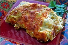"Enchilada Lasagna - Previous pinner wrote, ""I LOVE this recipe. It's easy, has few ingredients, and is absolutely DELISH."""