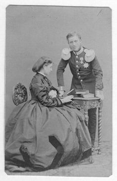 Leopold, Prince of Hohenzollern and Infanta Antonia of Portugal.