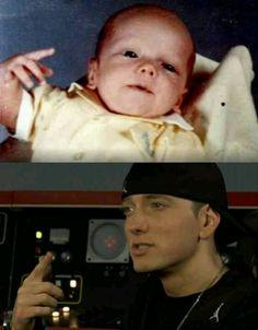 Eminem, 1972 and 2009. <3