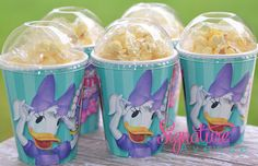 Daisy Duck Bowtique Birthday Party CupsPopcorn by SignatureAvenue, $10.40