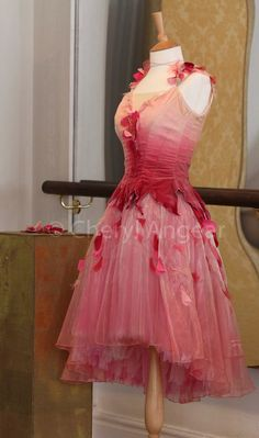 English National Ballet pretty rose costume for some lucky ballerina.