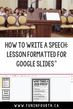 Looking for a speech writing resource that's digital? This resource is just what you need. You'll find everything from topic ideas to planning steps to assessment sheets included in this package. The slides can be used as anchor charts, or project while teaching. This version is great for distance learning, or for a class with 1:1 technology use! Be sure to check it out! #SpeechWriting #DistanceLearning