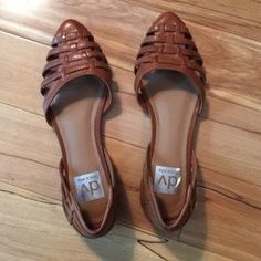 Dolce Vita Shoes - Dolce Vita brown leather flats