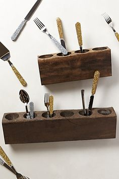 Highland Flatware Caddy - anthropologie.com