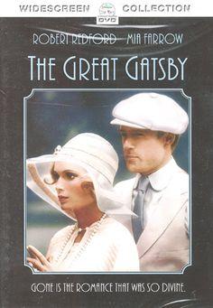 """The Great Gatsby"" - Robert Redford and Mia Farrow"