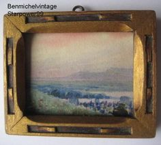 Miniature Water Colour - Willard Morse Mitchell, Quebec