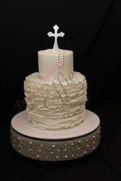 Communion Cake by Designer Cakes By Effie, via Flickr