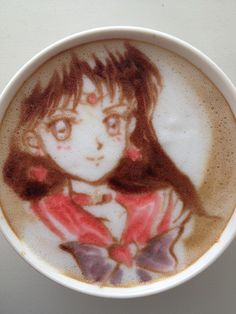 There's a Sailor Moon in my Coffee! Photos and Tips From a Japanese Manga Latte Artist