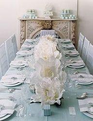 2013 Pantone Color | Greyed Jade Tablescape decor  #greyedjade #pantone #weddings #decor #tablescape