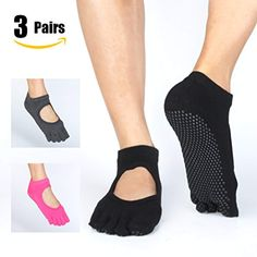 half price separation shoes best loved Muezna Slip Socks Uomo, Abbigliamento da Palestra Pilates ...