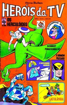 HERÓIS DA TV - HANNA-BARBERA Nº 05 / EDITORA ABRIL