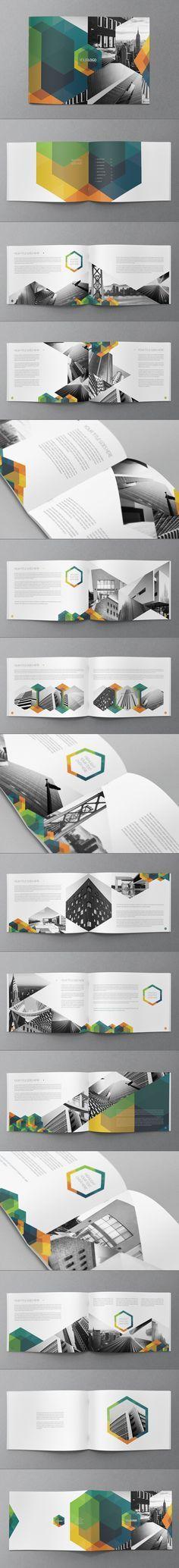 Hexo Brochure Design by Abra Design, via Behance #brochure #design