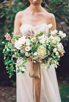 Organic Wedding Bouquet Ideas   Brides