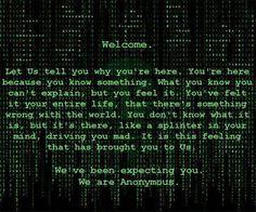 #Anonymous #OpNewBlood