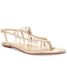 Katy Perry Celeste Star-Embellished Flat Sandals