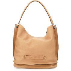 Longchamp Longchamp 3D Leather Hobo Bag