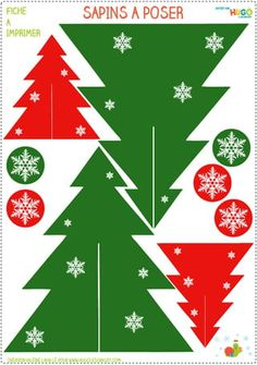 Pink Christmas Decorations, Christmas Paper Crafts, Felt Christmas Ornaments, Christmas Art, Christmas Projects, Christmas Tree Template, Christmas Printables, Christmas Trimmings, Christian Christmas