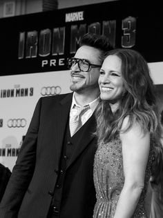 Robert Downey Jr and Susan Downey at the Iron Man 3 Hollywood Premiere