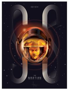 The MARTIAN- 2015- Vector Tribute by Orlando Arocena_mexifunk on Behance
