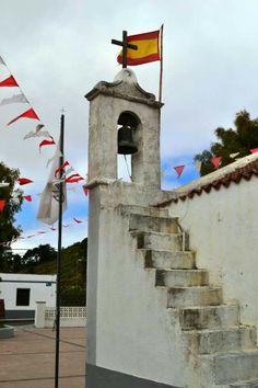 Iglesia de San Andrés en la isla de El Hierro (Canarias) España