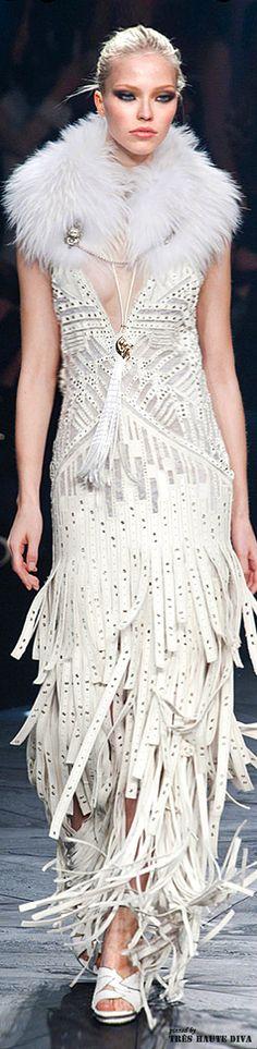 Milan Fashion Week Roberto Cavalli Fall/Winter 2014   The House of Beccaria#