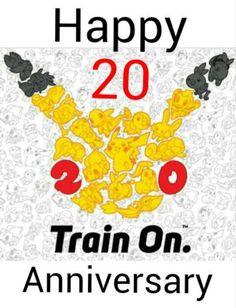 Happy 20 Anniversary!!!! To another 20 year!!! #pokemon20