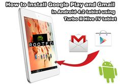 #Google #Play and #Gmail in Android tablet. How to install Google Play and Gmail in #Android 4.2 #tablet using #TurboX Hive IV tablet Earn More Money, Professional Website, Android 4, Invite Your Friends, Google Play, Online Marketing, Advertising, Technology, Free