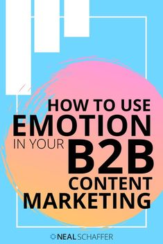 Create long-term and rewarding connections with your B2B audience by leveraging the power of emotion for your B2B content marketing. Here's how. Facebook Marketing, Social Media Marketing, Content Marketing Strategy, Marketing Ideas, Social Business, Business Tips, Customer Persona, Job Help, Social Media Trends