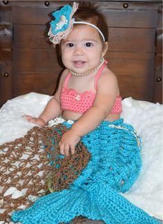 Mermaid costume  mermaid photo prop size 6 by ByJesssStuffwithlove, $65.00