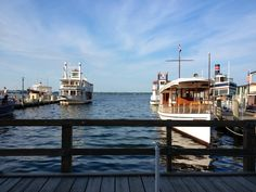It's a beautiful morning at the Riviera Docks. With Wisconsin Public Television shooting the iconic mailboat!