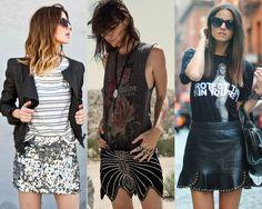 Como usar t-shirt na balada - Moda it