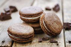 La recette des indémodables macarons chocolat noisette.