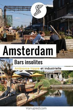 Bars insolites, industriels et hippies à Amsterdam Guide Amsterdam, Bar Original, Le Hangar, Cafe Bar, Movie Posters, North Sea, Old Town, Black Picture, Industrial