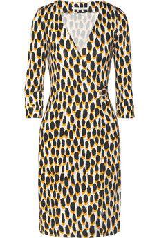 119735a88aff Diane von Furstenberg - New Julian leopard-print silk-jersey wrap dress
