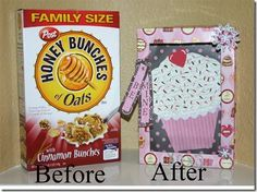 How To Make A Cereal Box Suitcase Valentine Party  Ask For