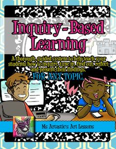 Inquiry-Based teaching is a response to our current 'knowledge based' society…