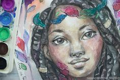 Watercolor Art Journal Share - My Process