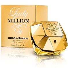 Lady Million by Paco Rabanne uma das grandes fragrâncias da atualidade e sucesso absoluto de vendas. Você encontra em nossa loja online essenceperfumaria.com com ótimo preço e condições. Contato via WhatsApp (62) 8305-2352. #Essence #essenceperfumaria #perfume #perfumes #fragrância #ladymillion