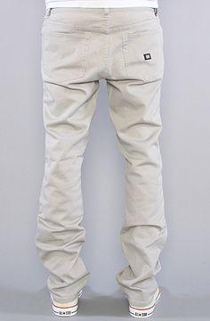 KR3W The K Slim Twill Pants in Khaki : Karmaloop.com - Global Concrete Culture