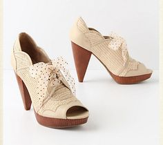 beautiful anthropologie shoes.