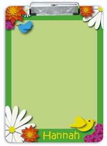 Our Green Spring   Personalized Clipboard